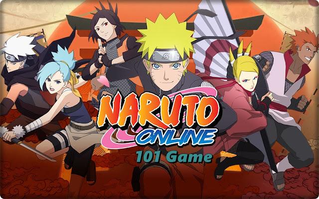 Манга аниме игра - Naruto Online (Наруто Онлайн)