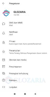 Mengubah Foto Profil Penguna Aplikasi Signal