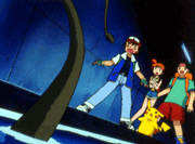 Ash, Misty y Tracey