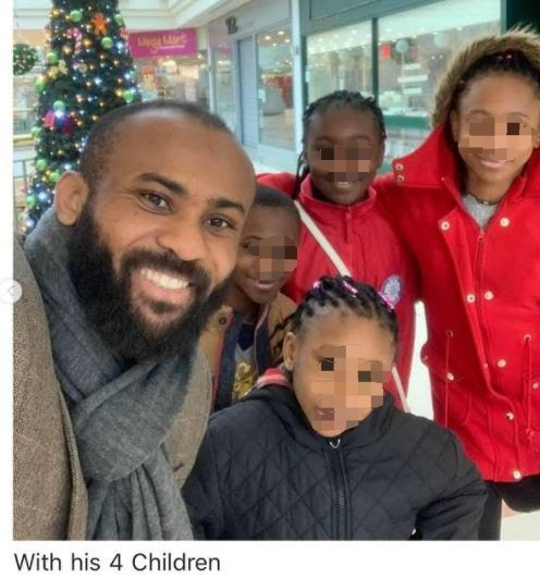 Pastor allegedly assaults and abandons his wife and his four kids in London as he returns to Nigeria to marry another wife