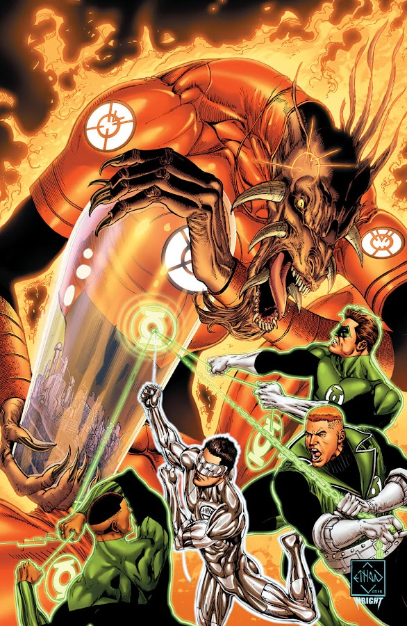 green lantern orange lantern dc comics rebirth ethan van sciver