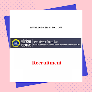 CDAC Chennai Recruitment 2019 for Project Associate (12 Vacancies)