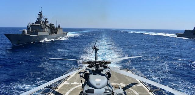 «Τα πολεμικά πλοία στην Ανατολική Μεσόγειο δείχνουν ότι θα υπάρξει περιστατικό»