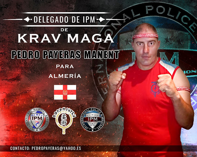 Nombramiento del entrenador D. Pedro Payeras Manent como Delegado de KRAV MAGA de IPM para Almería
