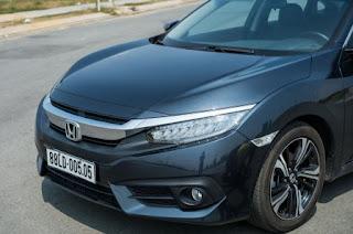 Đầu xe Honda Civic 2018