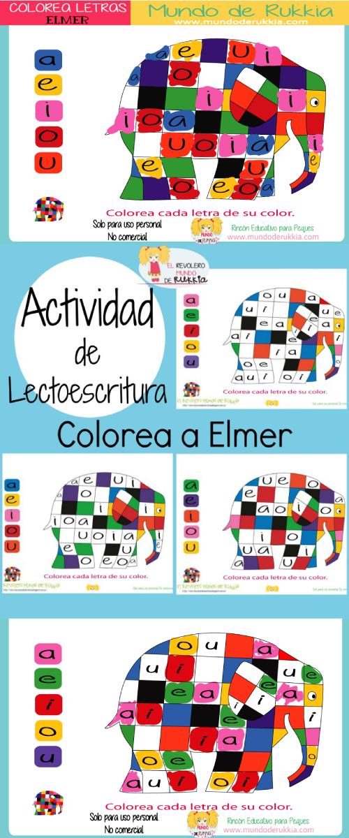 elmer-colorear
