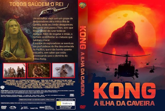 Capa DVD Kong A Ilha Da Caveira 2017 [Exclusiva]