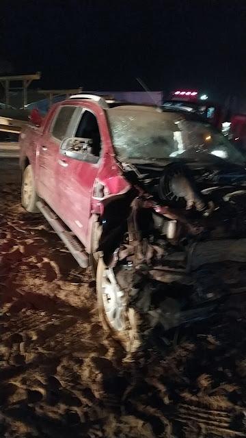 LEM: Grave acidente na BR 020 deixa dois mortos e uma criança ferida agora a noite
