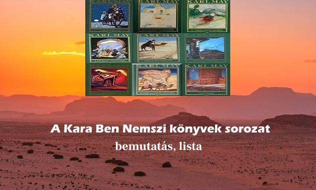 A Kara Ben Nemszi könyvek sorozat bemutatás, lista