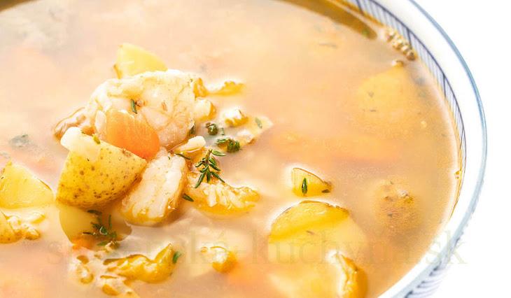 Tlčená polievka