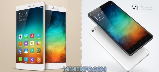 harga dan spesifikasi Xiaomi Mi Note 2