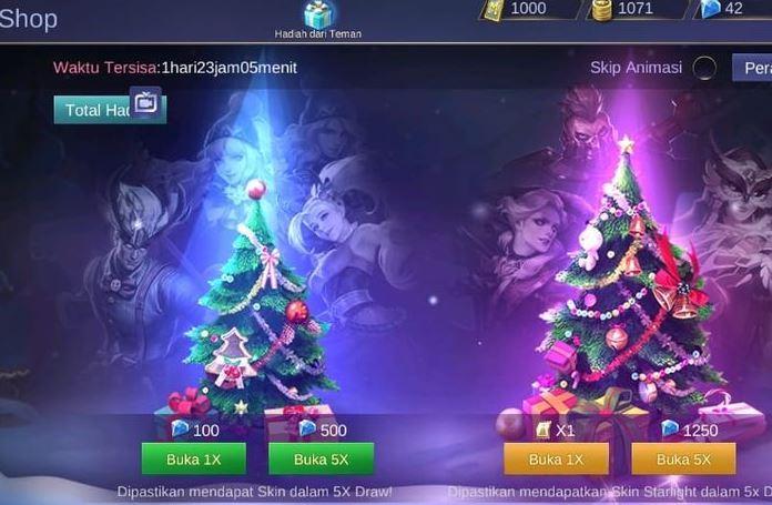 Buruan Ini Cara Mendapat Skin Starlight Gratis 29 Desember Di Mobile Legends Semoga Awet