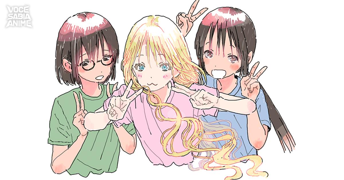 Asobi Asobase terá OAD junto com volume 7 do mangá