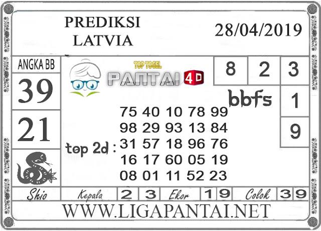"""Prediksi Togel """"LATVIA"""" PANTAI4D 28 APRIL 2019"""