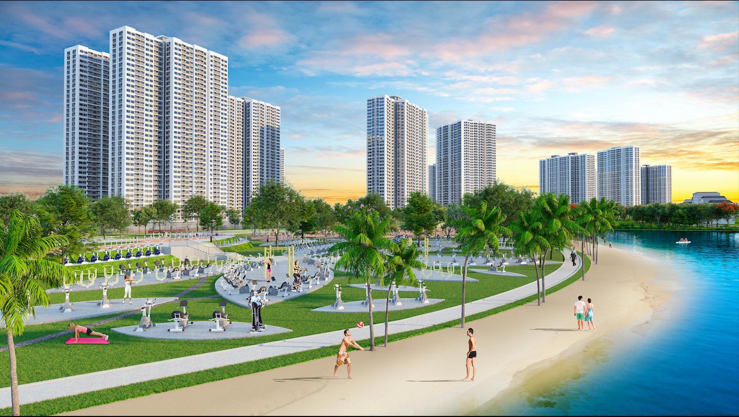 Công viên thể thao Vinhomes Smart City