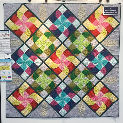 Imagination Quilt designed by Natalie Crabtree, using Artisan Cotton Collection for Windham Fabrics