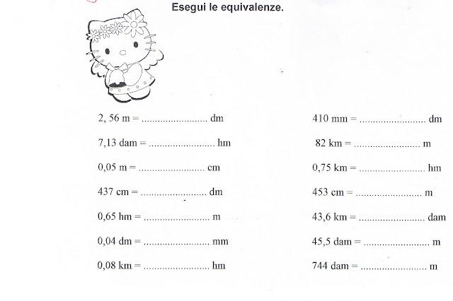 Estremamente didattica matematica scuola primaria: Equivalenze nel S.M.D.  LM68