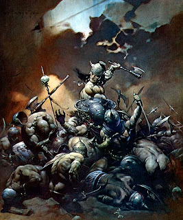 Conan - by the amazing Frank Frazetta