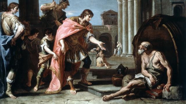 İskender ve Diogenes