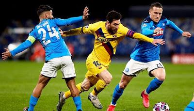 برشلونة ضد نابولي .. مواجهة لا تقبل الاستسلام في دوري الأبطال
