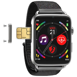 ميزات و سعر ساعة الاندرويد الجديدة LEMFO Lem10:  ساعة تدعم شريحة اتصال 4G
