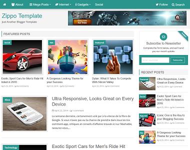 zippo blogger template, zippo template download, zippo template