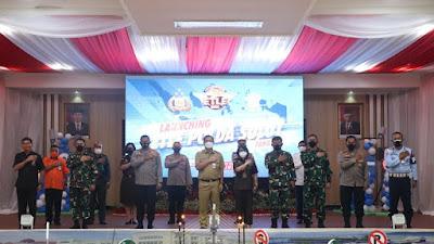 Dilaunching di 12 Polda, Wagub Kandouw Apresiasi Pemberlakuan ETLE Nasional di Sulut.