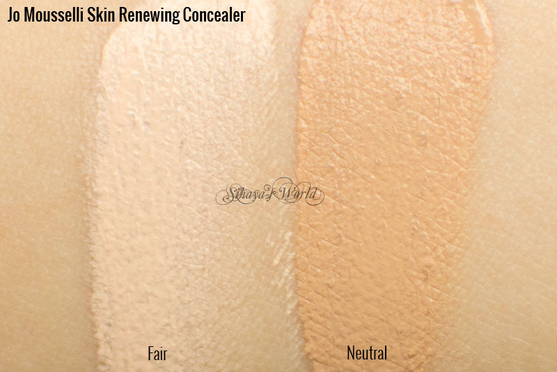 jo mousselli skin renewing concealer swatch
