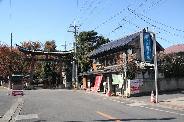 """Seichi junrei of """"Lucky Star"""" (Washimiya Shrine) (real)"""