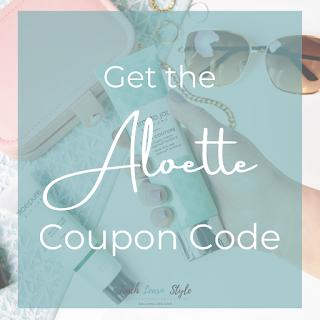 Aloette coupon code, Aloette discount, Aloette sale, Aloette promo code