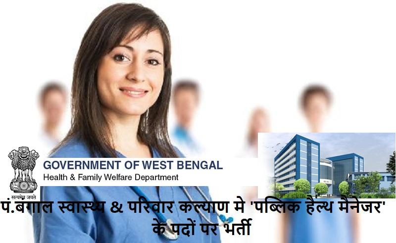 WB Health jobs 2019