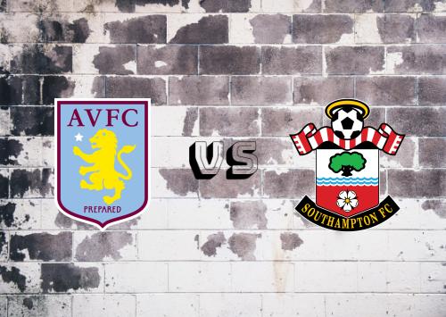 Aston Villa vs Southampton  Resumen