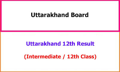 Uttarakhand 12th Exam Result