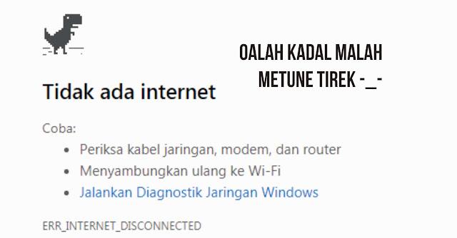 internet tidak tersedia dalam wifi