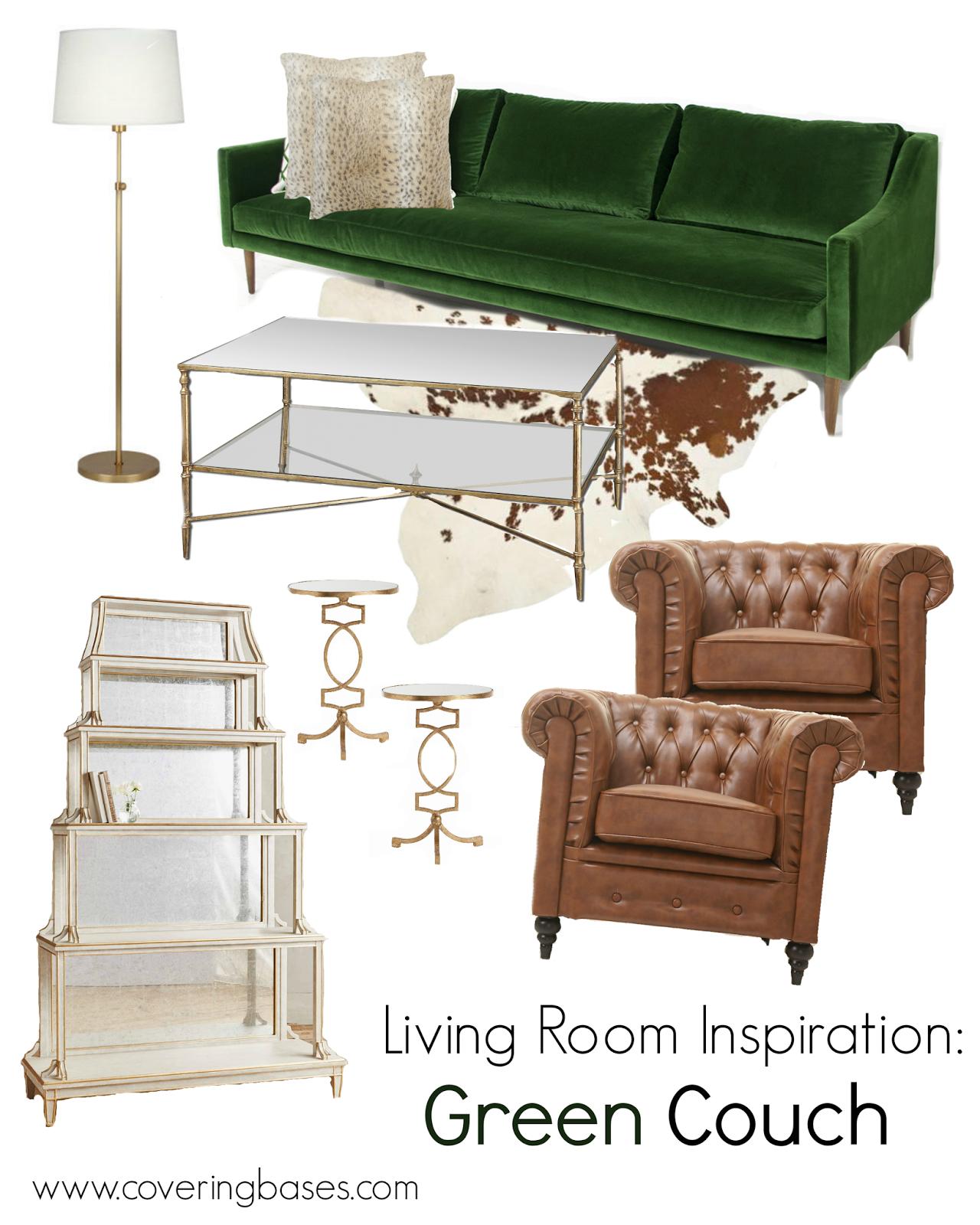 green velvet sofa couch rolf benz living room design covering the