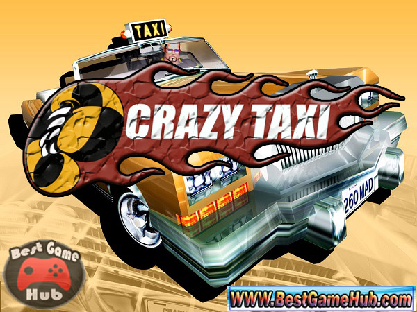 Crazy Taxi Full Version PC Game Free Download