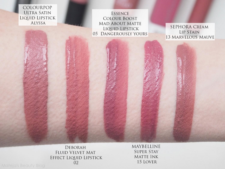 Essence Colour Boost Mad About Matte Liquid Lipstick Mateja S Beauty Blog