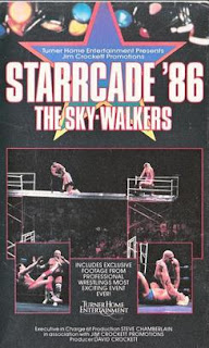 NWA Starrcade 1986 (The Skywalkers) - VHS cover