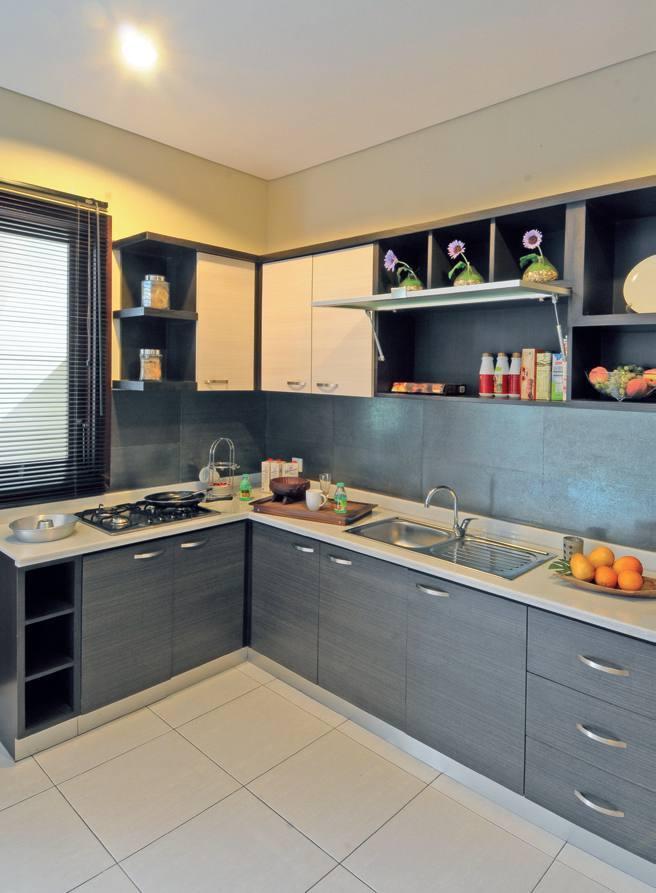 Elegant Minimalist Kitchen Design L