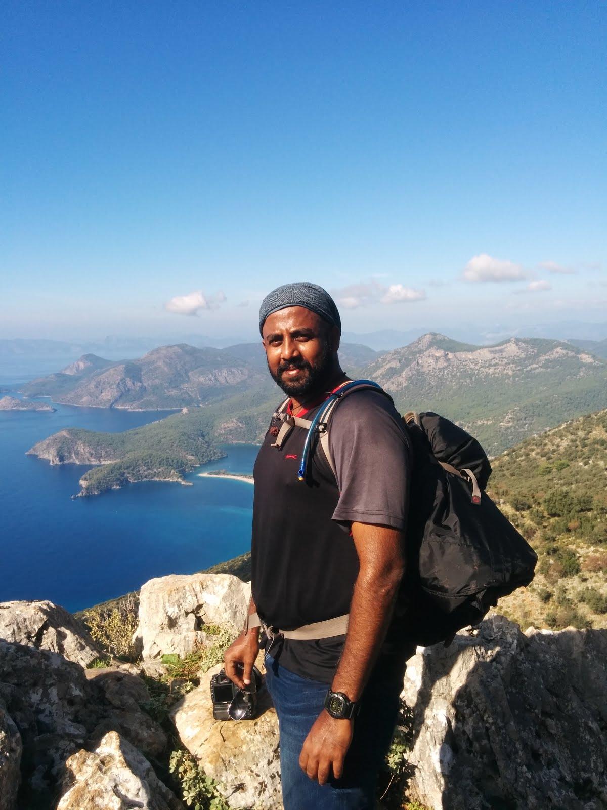 Summer Hiking at Lycian Way, Turkey
