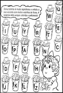 Atividades com nomes-letra inicial