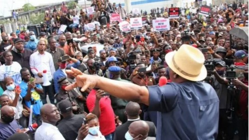 APC Will Destroy You, Don't Join Them For The Sake of Your Reputation - Wike warns Jonathan