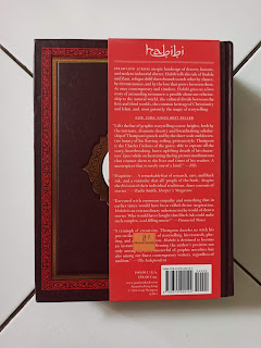 Back Cover Graphic Novel Habibi by Craig Thompson