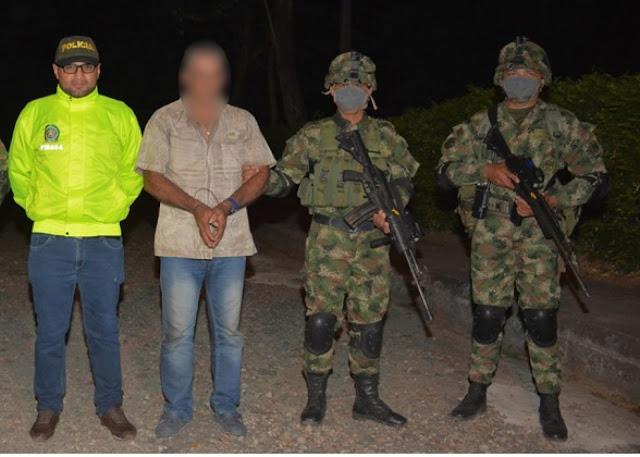 FRONTERA: Capturado sujeto señalado de ser alias el Veterano, cabecilla  del ELN en Arauca-Colombia.