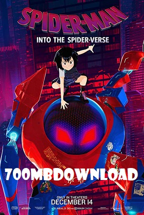 Spider-Man Into the Spider-Verse 2018 Dual Audio ORG Hindi 950MB BluRay 720p