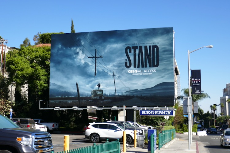 Stand CBS All Access billboard