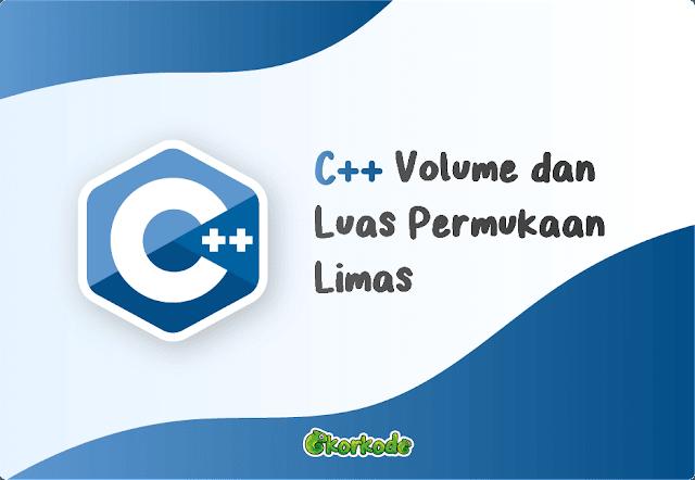 C++ Luas Volume Limas Segi Empat