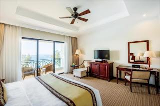 Phòng view biển Vinpearl Resort Phú Quốc