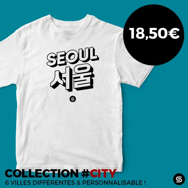 t-shirt coréen