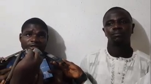 Faces Of Two Robbers Who Snatched N500K After Trailing Victim From Bank